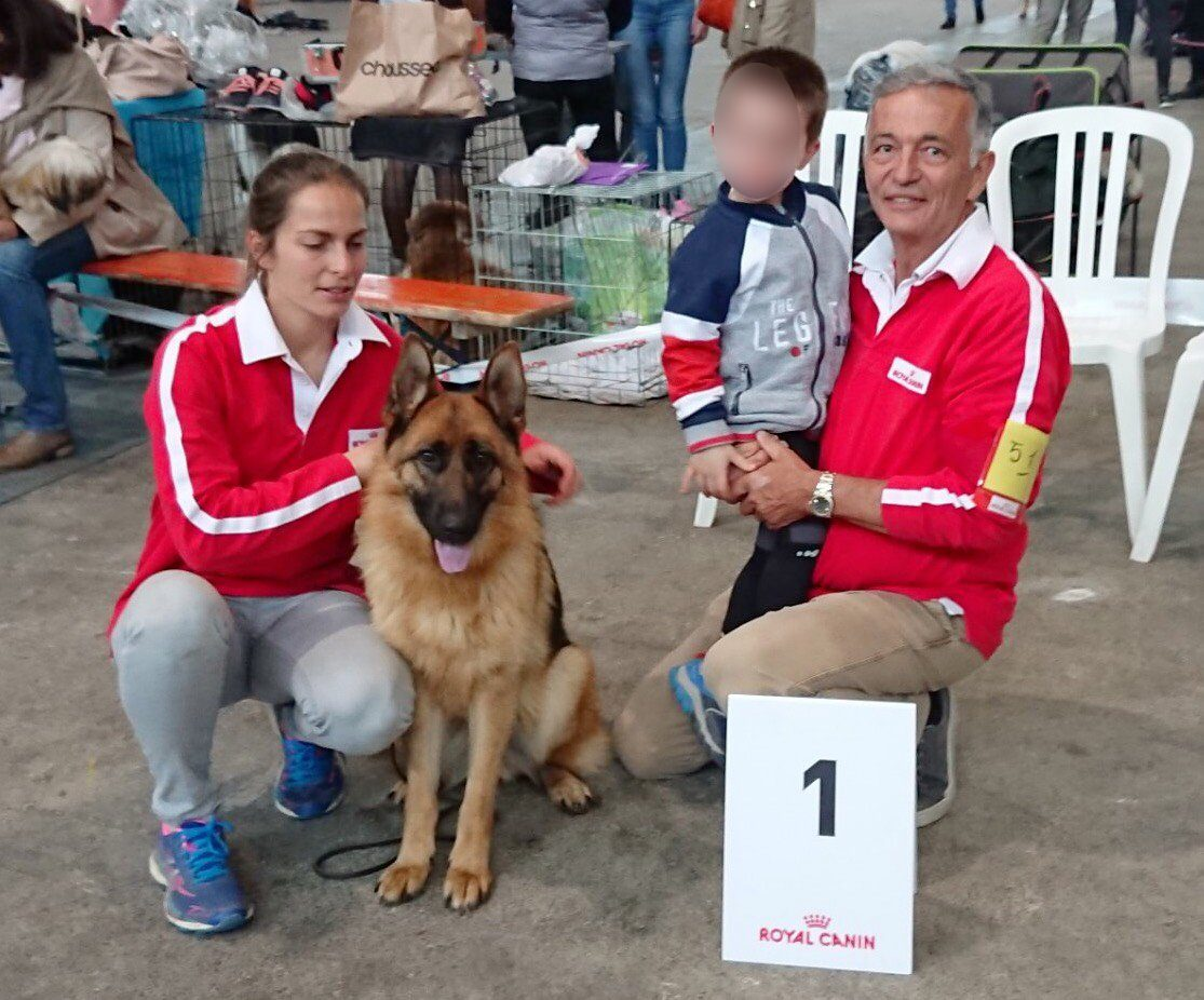 Photo 1 - Une belle victoire à l'exposition canine internationale 2019 !